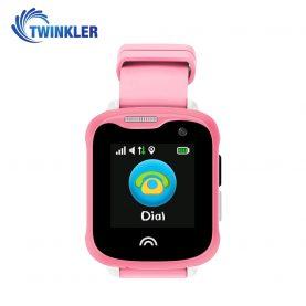Ceas Smartwatch Pentru Copii Twinkler TKY-D7 cu Functie Telefon, Localizare GPS, Camera, Pedometru, IP67 – Roz