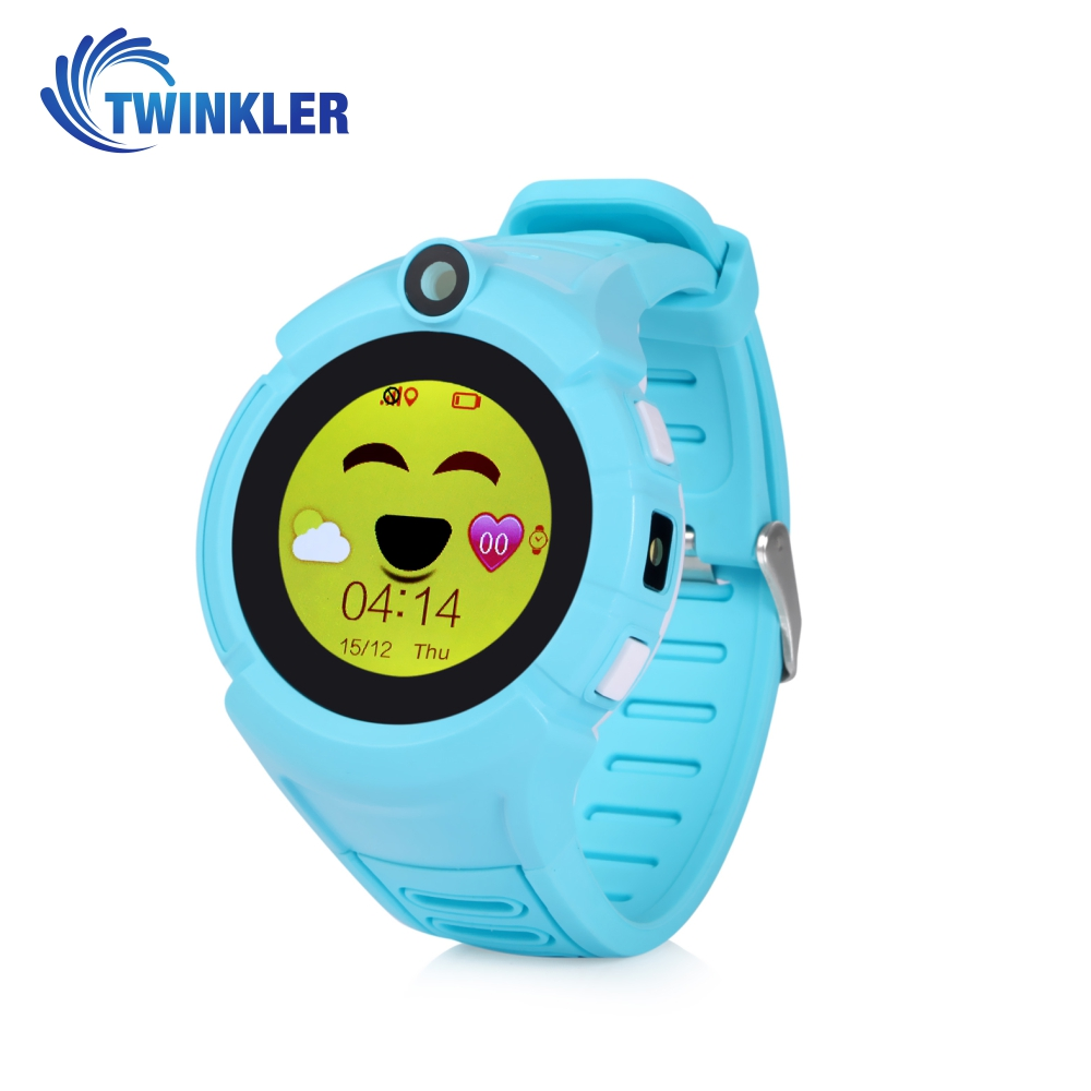 Ceas Smartwatch Pentru Copii Twinkler TKY-G610 cu Functie Telefon, Localizare GPS, Camera, Lanterna, Pedometru, SOS, Joc Matematic – Bleu imagine