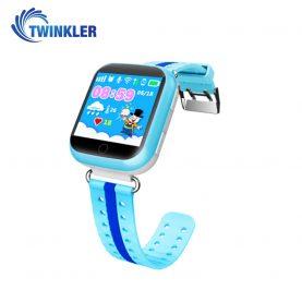 Ceas Smartwatch Pentru Copii Twinkler TKY-Q100 cu Functie Telefon, Localizare GPS, Pedometru, SOS – Albastru