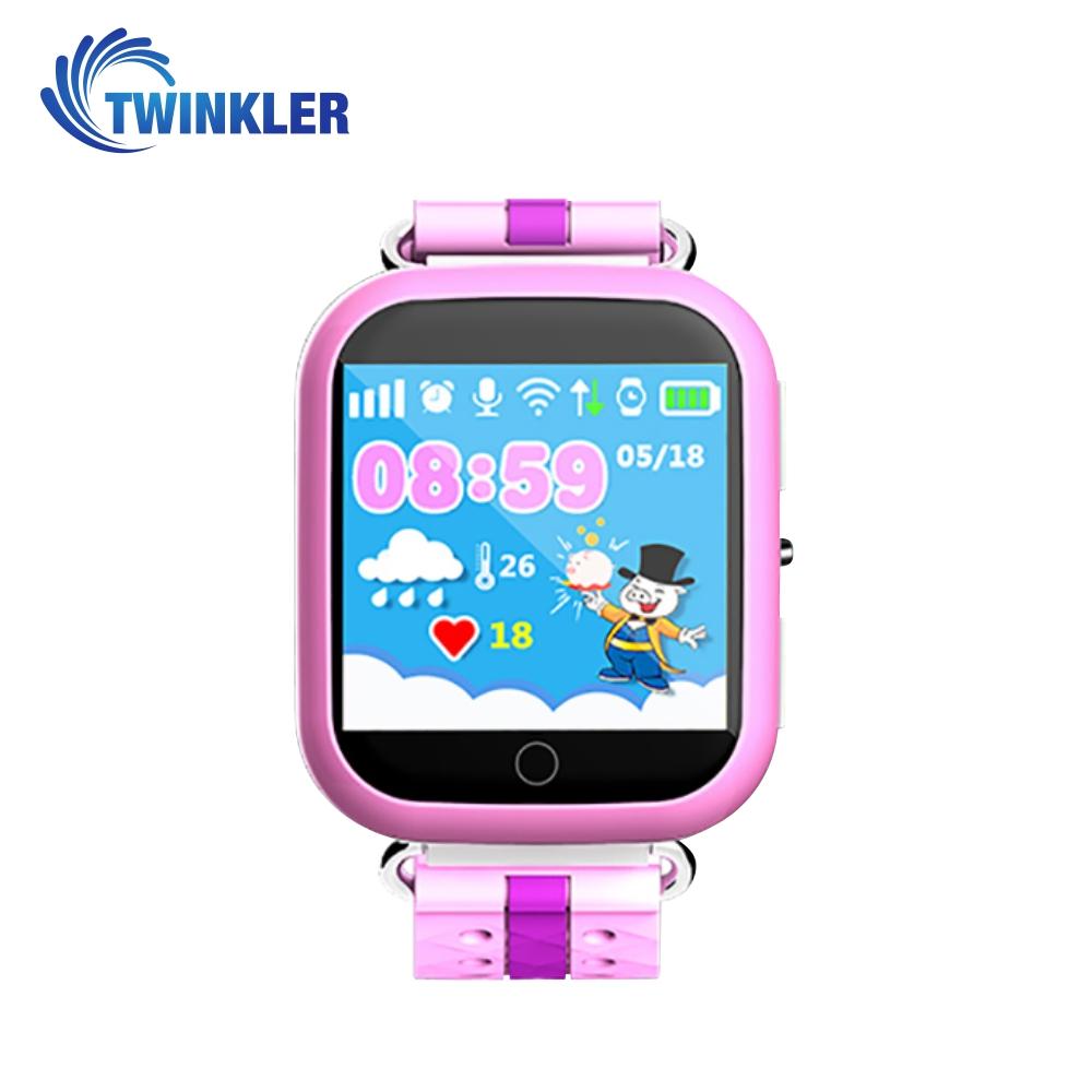 Ceas Smartwatch Pentru Copii Twinkler TKY-Q100 cu Functie Telefon, Localizare GPS, Pedometru, SOS, Detectie inlaturare ceas, Roz imagine