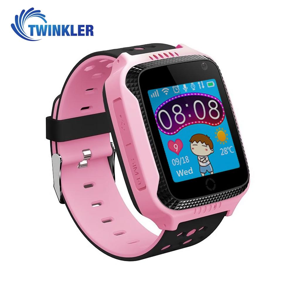 Ceas Smartwatch Pentru Copii Twinkler TKY-Q529 cu Functie Telefon, Localizare GPS, Camera, Pedometru, SOS, Lanterna, Joc Matematic – Roz, Cartela SIM Cadou imagine