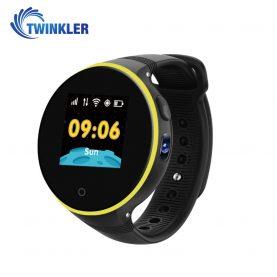 Ceas Smartwatch Pentru Copii Twinkler TKY-S669 cu Functie Telefon, Localizare GPS, Camera, Pedometru, SOS, Rezistent la apa – Negru