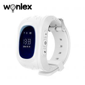 Ceas Smartwatch Pentru Copii Wonlex Q50 cu Functie Telefon, Localizare GPS, Pedometru, SOS – Alb, Cartela SIM Cadou