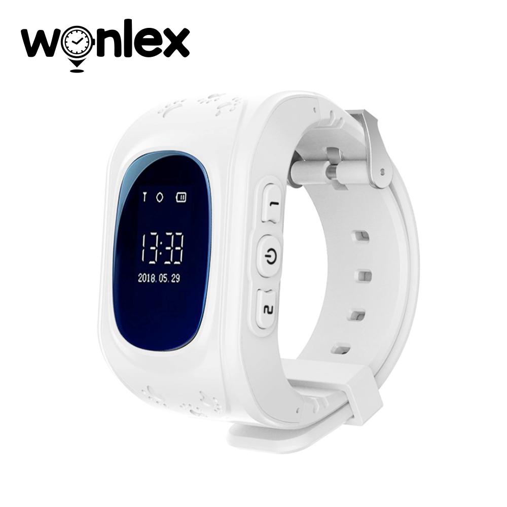 Ceas Smartwatch Pentru Copii Wonlex Q50 cu Functie Telefon, Localizare GPS, Pedometru, SOS – Alb, Cartela SIM Cadou imagine