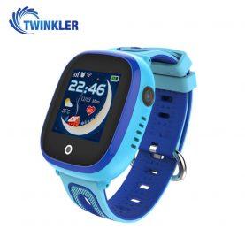 Ceas Smartwatch Pentru Copii Twinkler TKY-DF31 cu Functie Telefon, Localizare GPS, Camera, Pedometru, SOS, IP67 – Albastru