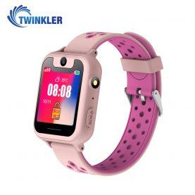 Ceas Smartwatch Pentru Copii Twinkler TKY-S6 cu Functie Telefon, Localizare GPS, Camera, Lanterna, Pedometru, SOS – Roz Pal