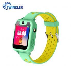 Ceas Smartwatch Pentru Copii Twinkler TKY-S6 cu Functie Telefon, Localizare GPS, Camera, Lanterna, Pedometru, SOS, Joc Matematic – Verde Jad, Cartela SIM Cadou