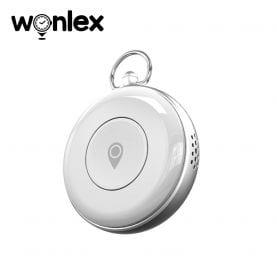 Mini GPS tracker Wonlex S02 cu localizare si monitorizare – Alb