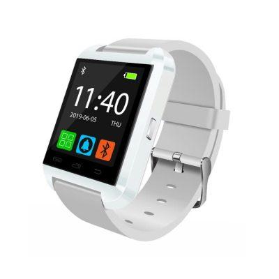 Ceas Smartwatch U8 cu Functie Apelare prin Bluetooth, Pedometru, Notificari, Monitorizare somn – Alb