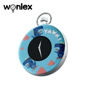 Mini GPS tracker cu Ceas digital Wonlex S03 cu localizare si monitorizare – Albastru