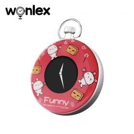 Mini GPS tracker cu Ceas digital Wonlex S03 cu localizare si monitorizare – Rosu