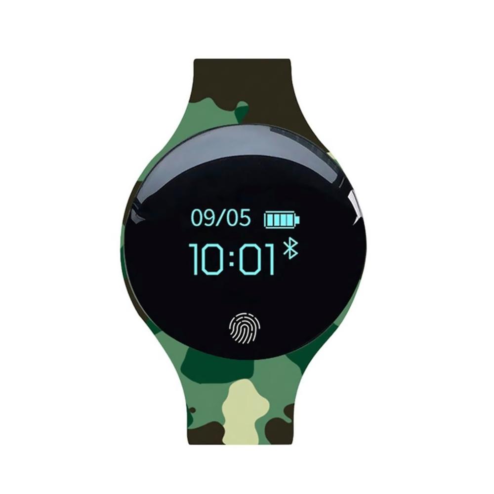 Bratara fitness inteligenta B8 cu monitorizarea somnului, Notificari, Pedometru, Bluetooth, Camuflaj imagine