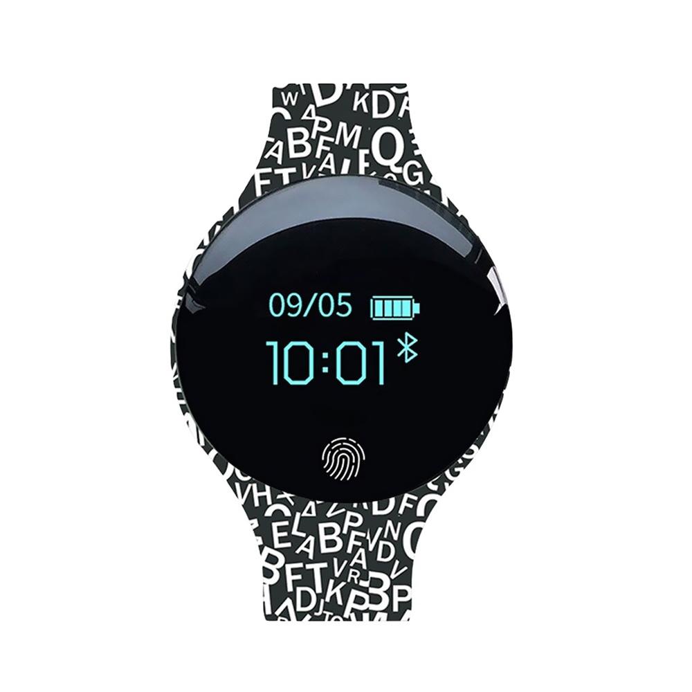 Bratara fitness inteligenta B8 cu monitorizarea somnului, Notificari, Pedometru, Bluetooth, Litere imagine