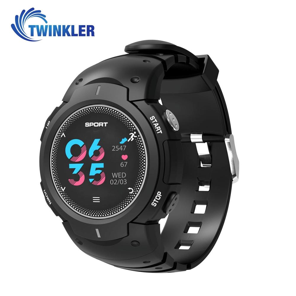 Ceas Smartwatch TKY-F8 cu functie de monitorizare ritm cardiac, Monitorizare somn, Pedometru, Notificari, Negru imagine