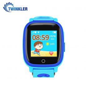 Ceas Smartwatch Pentru Copii Twinkler TKY-Q11 cu Functie Telefon, Localizare GPS, Camera, Lanterna, SOS, Pedometru, Jocuri, IP67 – Albastru
