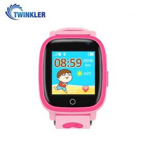 Ceas Smartwatch Pentru Copii Twinkler TKY-Q11 cu Functie Telefon, Localizare GPS, Camera, Lanterna, SOS, Pedometru, Jocuri, IP67 – Roz