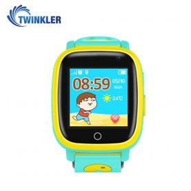 Ceas Smartwatch Pentru Copii Twinkler TKY-Q11 cu Functie Telefon, Localizare GPS, Camera, Lanterna, SOS, Pedometru, Jocuri, IP67 – Verde Jad