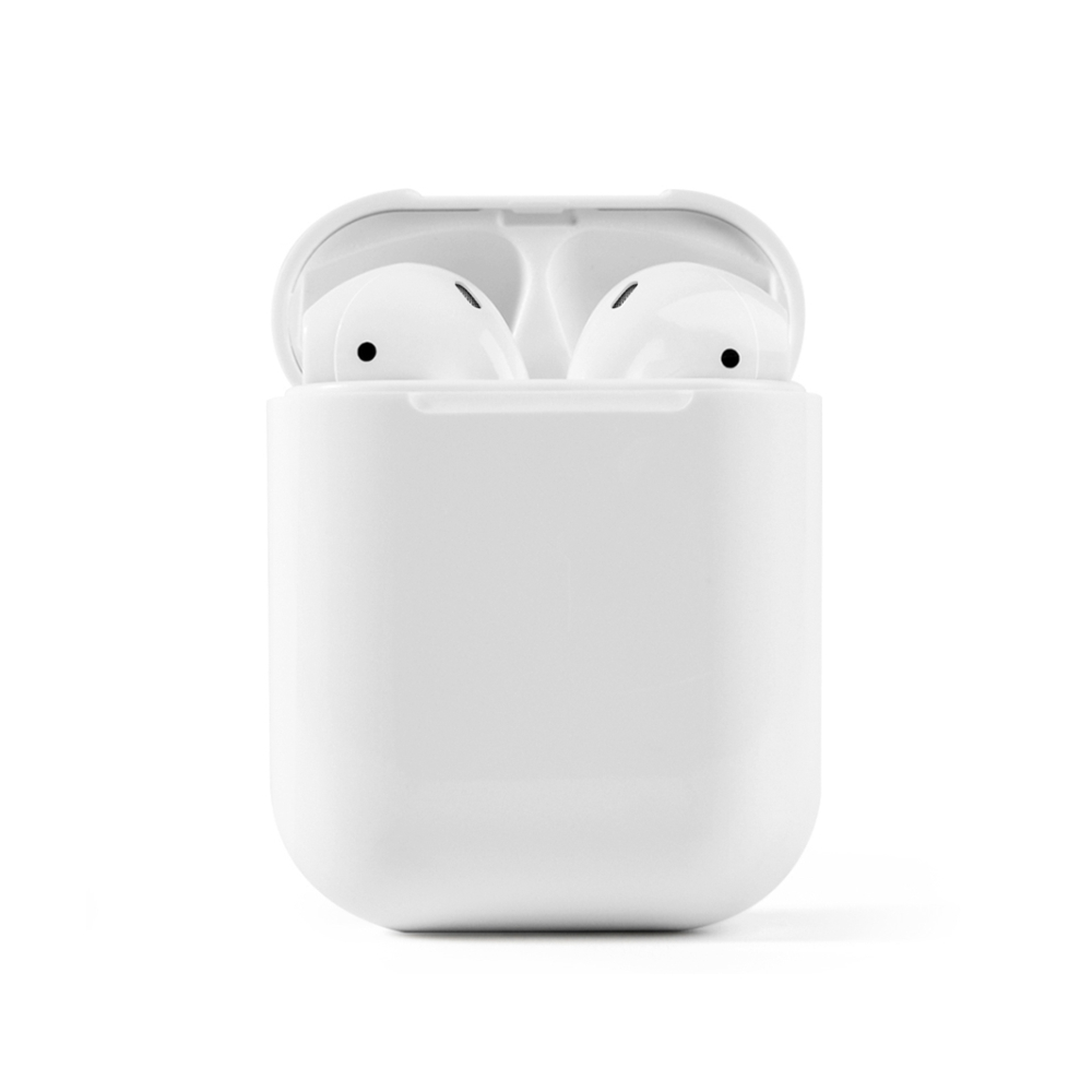 Casti wireless Bluetooth I12 Stereo cu Functie apelare, Control muzica, Cutie incarcare inclusa, Android/ iOS, Alb imagine