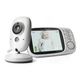 Baby Monitor Wireless VB603, Monitorizare Audio – Video, Monitorizare temperatura, Comunicare bidirectionala, Cantece de leagan, Night Vision, Baterie incorporata