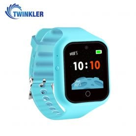 Ceas Smartwatch Pentru Copii Twinkler TKY-M5S cu Functie Telefon, Localizare GPS, Camera, SOS, Istoric traseu, Bleu