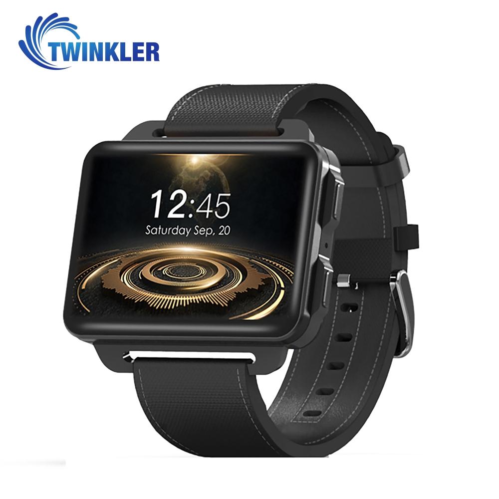 Ceas Smartwatch TKY-DM99 cu Functie Apelare, Ritm cardiac, Camera, GPS, WIFI, Apel video, Pedometru, Notificari, Android, Negru imagine