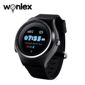 Ceas Smartwatch Pentru Copii Wonlex KT06 cu Functie Telefon, Localizare GPS, Apel Monitorizare, Pedometru, SOS, Negru