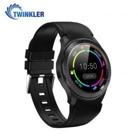 Ceas Smartwatch TKY-DM368 Plus cu Functie Apelare, Senzor puls, Tensiune arteriala, WiFi, GPS, Browser, Incarcare magnetica, 4G, Android