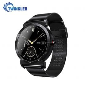 Ceas Smartwatch K88H Plus cu Functie Apelare prin Bluetooth, Senzor puls, Monitorizare somn, Notificari, Pedometru, Incarcare magnetica, Negru