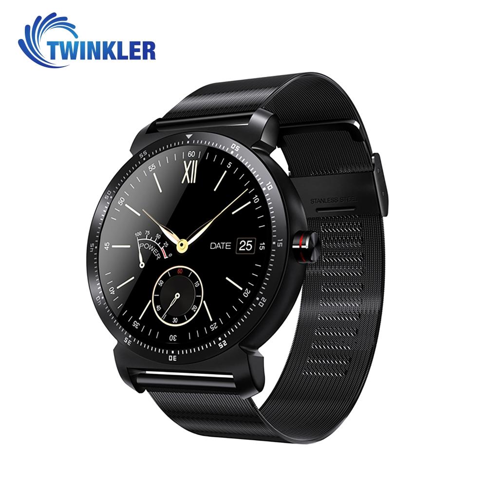 Ceas Smartwatch K88H Plus cu Functie Apelare prin Bluetooth, Senzor puls, Monitorizare somn, Notificari, Pedometru, Incarcare magnetica, Negru imagine