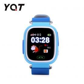 Ceas Smartwatch Pentru Copii YQT Q523 cu Functie Telefon, Localizare GPS, Pedometru, SOS – Bleu, Cartela SIM Cadou