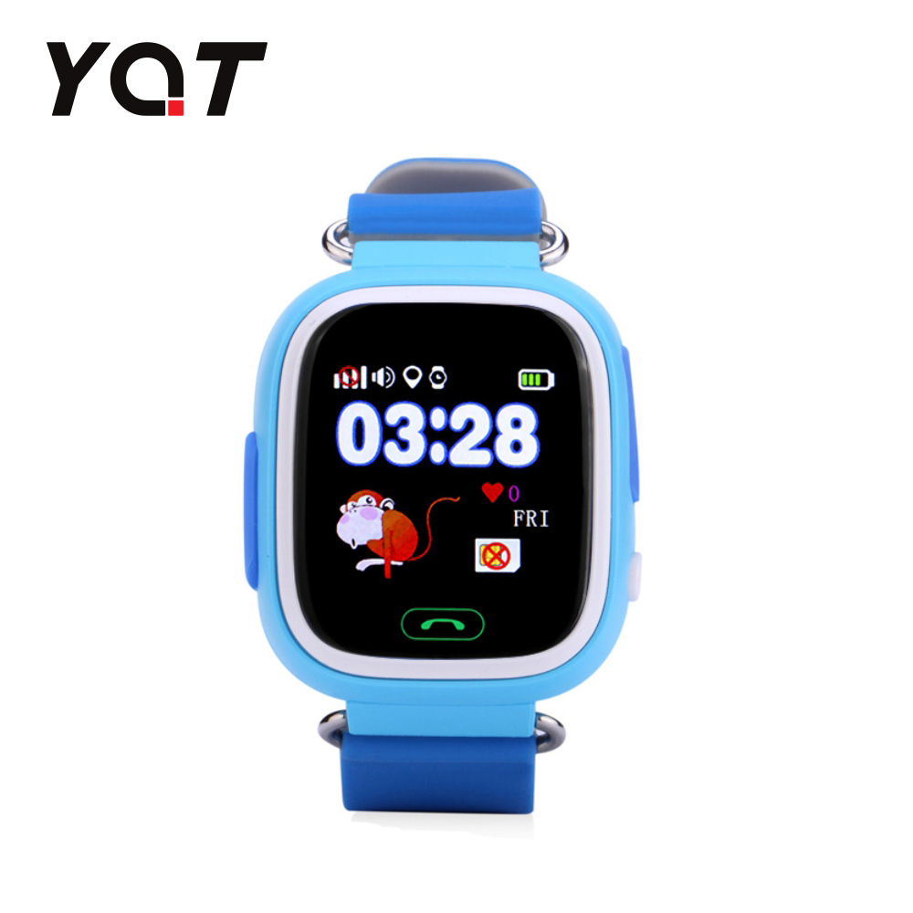 Ceas Smartwatch Pentru Copii YQT Q523 cu Functie Telefon, Localizare GPS, Pedometru, SOS – Bleu, Cartela SIM Cadou imagine