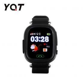 Ceas Smartwatch Pentru Copii YQT Q523 cu Functie Telefon, Localizare GPS, Pedometru, SOS – Negru, Cartela SIM Cadou
