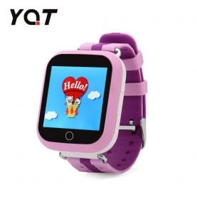 Ceas Smartwatch Pentru Copii YQT Q750 cu Functie Telefon, Localizare GPS, Apel de Monitorizare, Pedometru, SOS, Roz