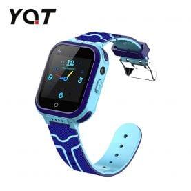 Ceas Smartwatch Pentru Copii YQT T3 cu Functie Telefon, Apel video, Localizare GPS, Istoric traseu, Apel de Monitorizare, Camera, Lanterna, Android, 4G, Albastru, Cartela SIM Cadou