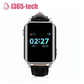 Ceas Smartwatch Pentru Adulti / Varstnici i365-Tech A16 cu Functie Telefon, Senzor puls, Localizare GPS, Pedometru – Negru