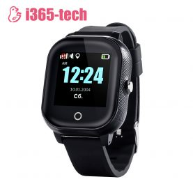 Ceas Smartwatch Pentru Copii i365-Tech FA23 cu Functie Telefon, Localizare GPS, SOS, Istoric traseu, Pedometru, Negru