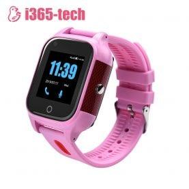 Ceas Smartwatch Pentru Copii i365-Tech FA28 cu Functie Telefon, Apel video, Localizare GPS, Camera, Pedometru, SOS, IP54, 4G, Roz