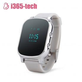 Ceas Smartwatch Pentru Copii i365-Tech T58 cu Functie Telefon, Localizare GPS, Istoric traseu, Apel de Monitorizare, Argintiu
