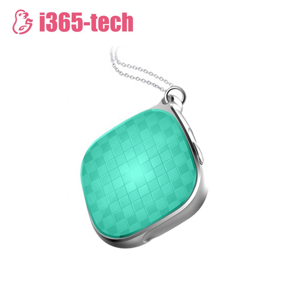 Mini GPS tracker i365-Tech A9 cu Functie Localizare GPS, Istoric traseu, Comunicare bidirectionala, Apel de monitorizare, Verde imagine
