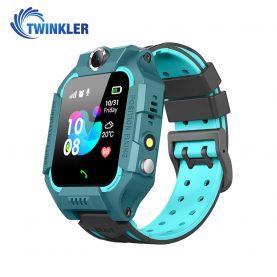 Ceas Smartwatch Pentru Copii Twinkler TKY-GK01 cu Functie Telefon, Localizare GPS, Camera, Lanterna, Joc Matematic, Apel de monitorizare, Verde