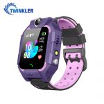 Ceas Smartwatch Pentru Copii Twinkler TKY-GK01 cu Functie Telefon, Localizare GPS, Camera, Lanterna, Joc Matematic, Apel de monitorizare, Mov