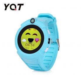 Ceas Smartwatch Pentru Copii YQT-610S cu Functie Telefon, Localizare GPS, Camera, Lanterna, Pedometru, SOS – Bleu