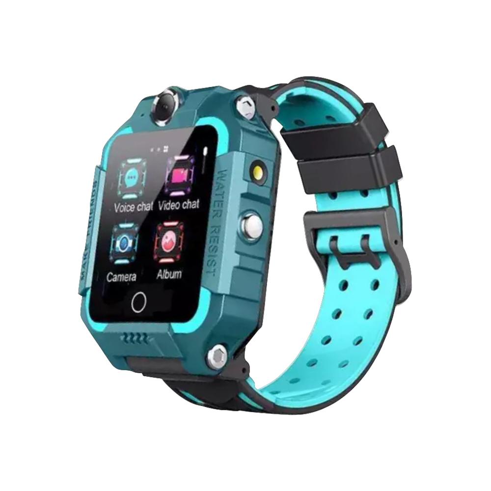Ceas Smartwatch Pentru Copii YQT T10-360, 4G, GPS, Rotire 360 grade, Apel video, Rezistent la apa, Camera duala, Verde imagine
