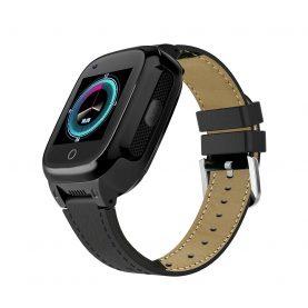 Ceas Smartwatch Pentru Adulti / Varstnici YQT T8L cu Functie Telefon, Localizare GPS, 4G, Camera, Rezistent la apa, Functie SOS, Pedometru, Frecventa cardiaca, Fitness tracker, Negru