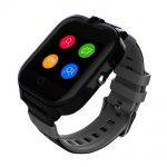 Ceas Smartwatch Pentru Copii, Wonlex KT13, Negru, SIM card, 4G, Rezistent la stropi IP54, Apel video