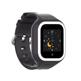 Ceas Smartwatch Pentru Copii, Wonlex KT21, Negru, SIM card, 4G, Rezistent la apa IP54, Apel video