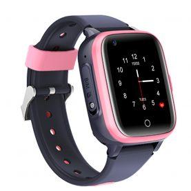 Ceas Smartwatch Pentru Copii, Wonlex KT15, Roz, SIM card, 4G, Rezistent la apa IP54, Apel video