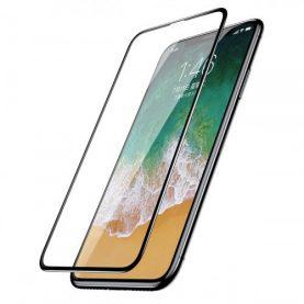 Folie de sticla pentru protectie ecran, Apple iPhone X / XS, Transparent, 0.3 mm