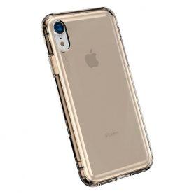 Husa pentru Apple iPhone XR, Baseus Safety Airbags Case, Gold, 6.1  inch