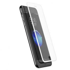Folie de sticla 3D pentru protectie ecran, Apple iPhone 6 / 6S / 7 / 8, Grosime 0.33 mm, Alb
